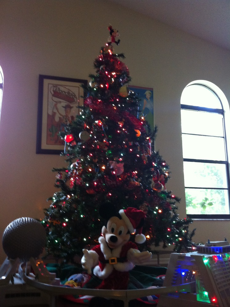 My Mickey Mouse Christmas Tree - Adventures with Jen Cook