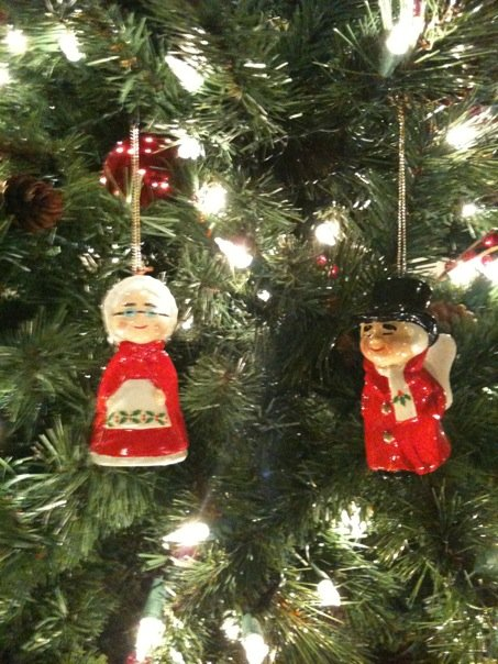 Uncle Mistletoe and Aunt Holly Christmas Ornaments - Uncle Mistletoe And Aunt Holly Christmas Ornaments - Adventures With